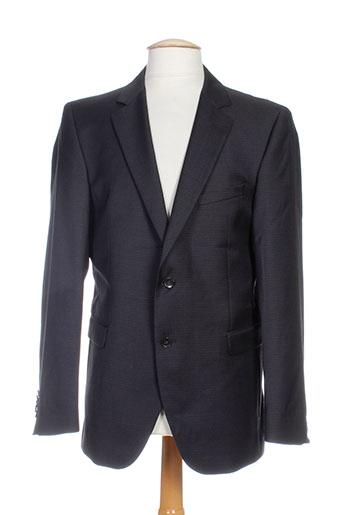 strellson vestes homme de couleur noir