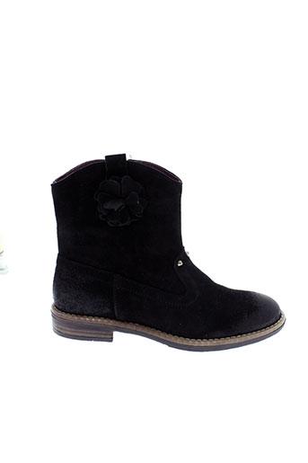 mod8 boots fille de couleur noir