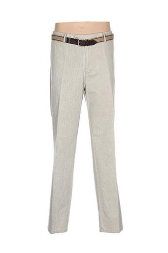 harold pantalons homme de couleur vert
