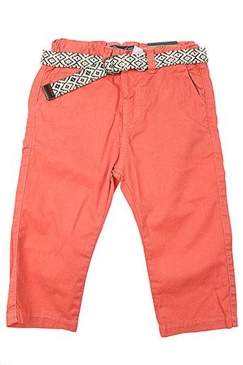 mayoral pantalons garçon de couleur orange