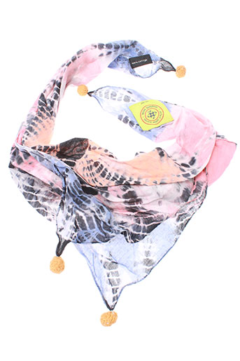 erfurt foulards fille de couleur rose