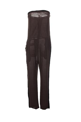 Combi-pantalon vert LAURENCE DOLIGE pour femme