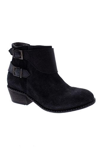 hudson chaussures femme de couleur noir