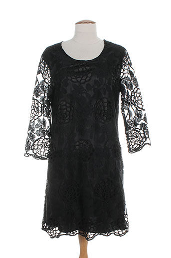 black mojito robes femme de couleur noir