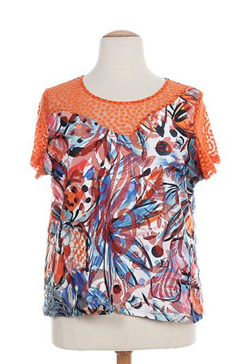 arona san francisco t-shirts femme de couleur orange
