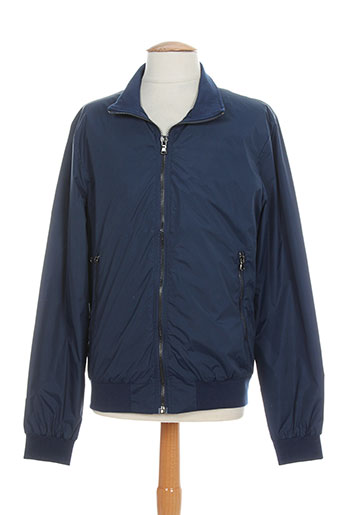gold sk manteaux homme de couleur bleu