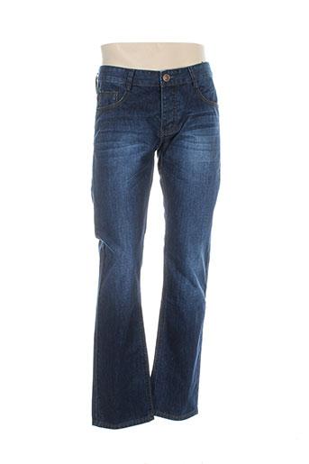 gold sk jeans homme de couleur bleu