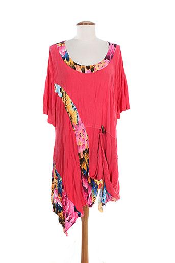 2w et paris tuniques femme de couleur rose (photo)