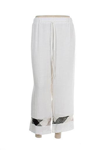 purplerose pantalons femme de couleur beige