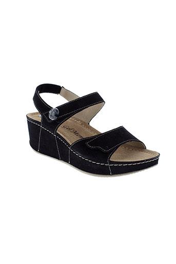 rohde sandales et nu et pieds femme de couleur noir
