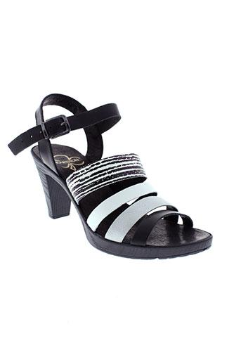 karston sandales et nu et pieds femme de couleur noir