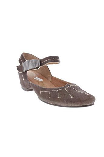 karston chaussures femme de couleur marron