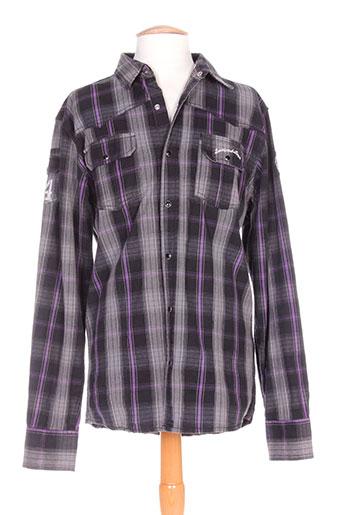 lenny EFFI_CHAR_1 loyd chemises homme de couleur gris