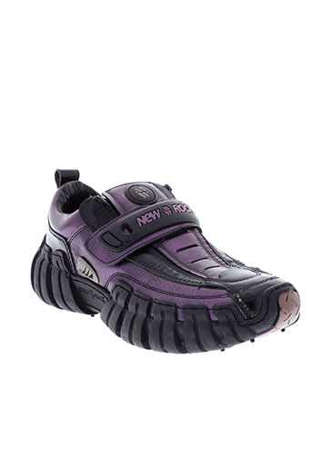 new rock chaussures femme de couleur violet