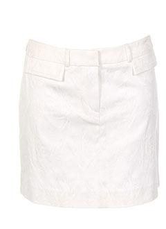 Mini-jupe blanc TEENFLO pour femme