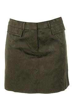 Mini-jupe vert TEENFLO pour femme