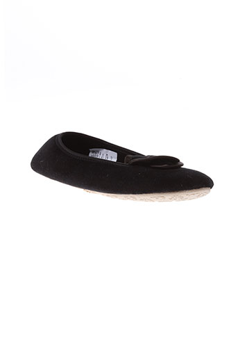 la fiancee d'arthur chaussures femme de couleur noir
