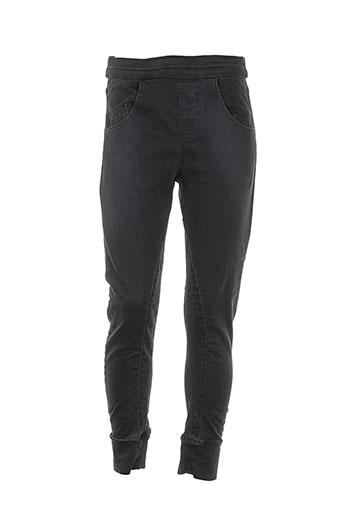pull in pantalons femme de couleur noir