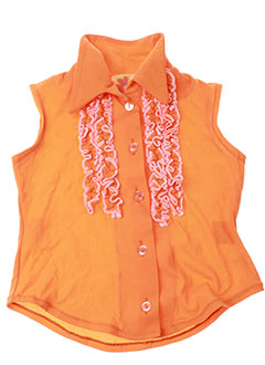 Chemisier sans manche orange ISLA BONITA pour fille
