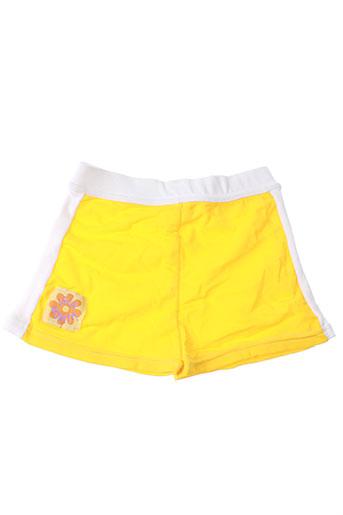 isla bonita maillots de bain fille de couleur jaune