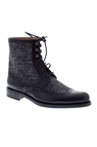 george's chaussures femme de couleur noir