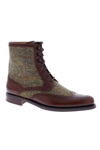 george's chaussures femme de couleur marron