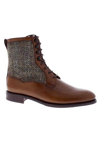 georges chaussures femme de couleur marron