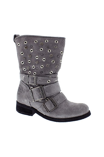 republyka chaussures femme de couleur gris