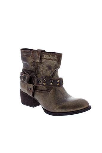 republyka chaussures femme de couleur marron