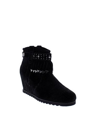 starfly chaussures femme de couleur noir