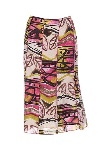 france rivoire jupes femme de couleur rose