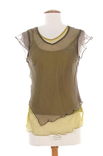 equation chemises femme de couleur vert