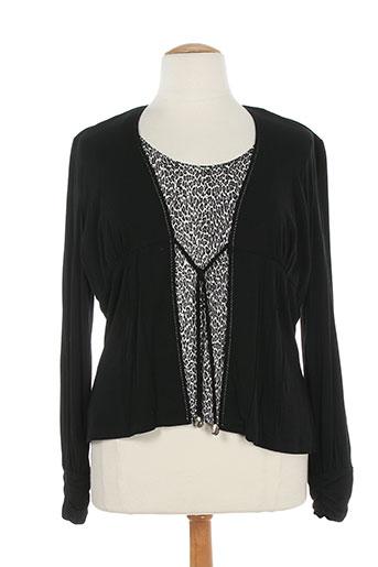 nominal chemises femme de couleur noir