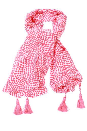 betty et barclay foulards femme de couleur rouge