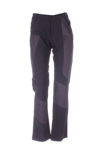 garancia pantalons femme de couleur noir