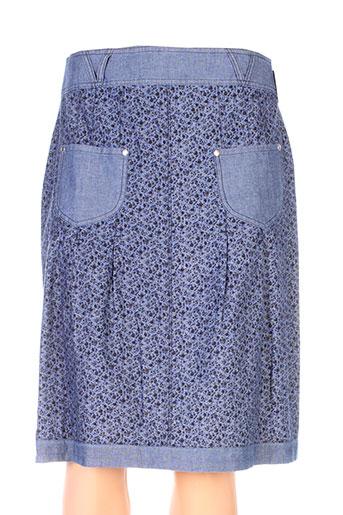 quattro jupes femme de couleur bleu