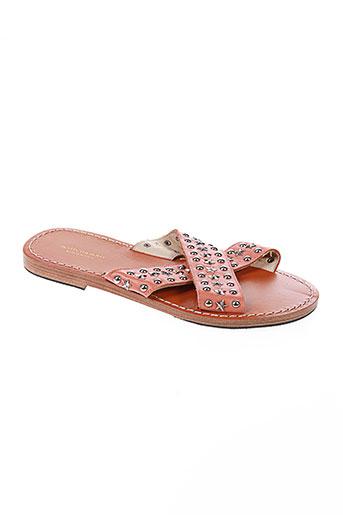 scotch EFFI_CHAR_1 soda chaussures femme de couleur rose