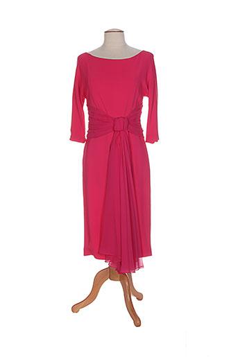 maxmara robes femme de couleur rose