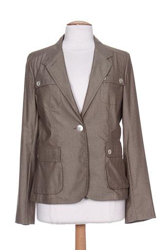 marella vestes femme de couleur marron
