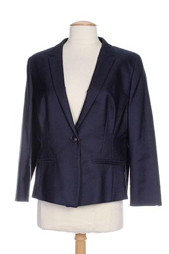 maxmara vestes femme de couleur bleu