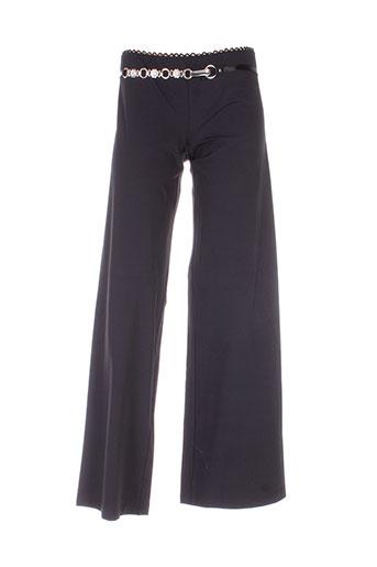 hich use pantalons femme de couleur noir