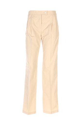 Pantalon casual beige MAXMARA pour femme