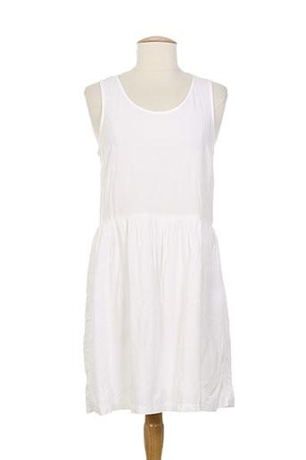 teddy smith robes femme de couleur blanc