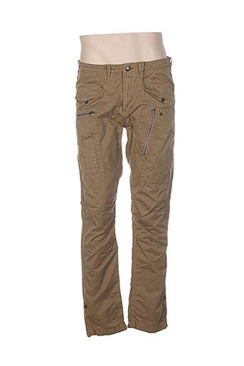attract pantalons homme de couleur vert