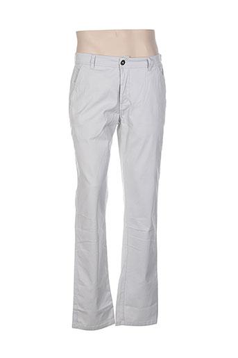 paul stragas pantalons homme de couleur gris
