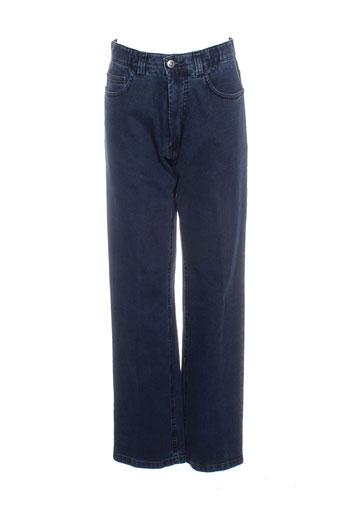 modexal jeans femme de couleur bleu