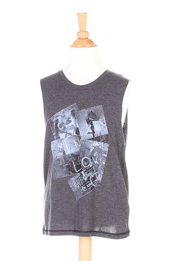 teddy smith t-shirts fille de couleur gris