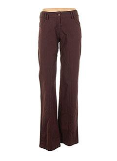 Pantalon casual marron ALDO MARTIN'S pour femme