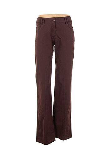 aldo martin's pantalons femme de couleur marron