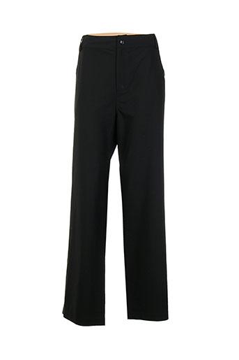 rimini pantalons femme de couleur noir